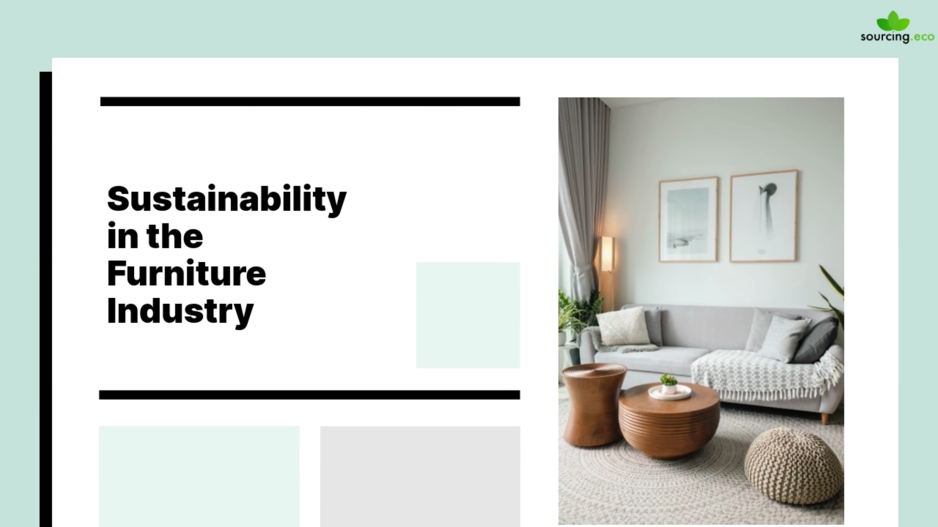 How sustainability is changing the furniture industry
